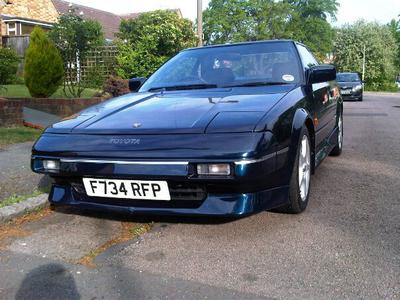 1989 Toyota MR2 GT T Bar