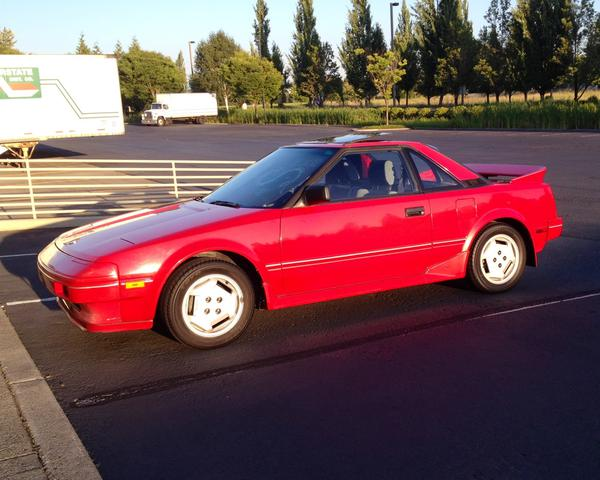 1986 Toyota MR2 Coupe